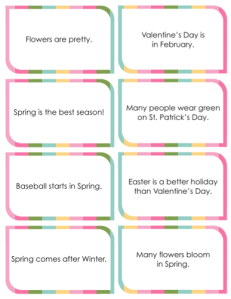 Spring Social Emotional Activity Pack