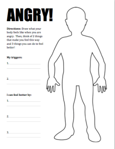 New Product :: Dealing with Anger Activity Pack   One-Stop Counseling ...