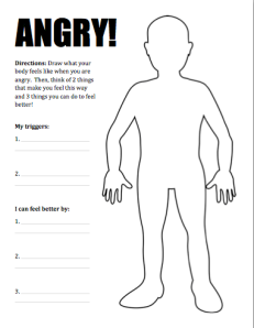 Worksheets Coping With Anger Worksheets collection of anger thermometer worksheet bloggakuten
