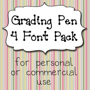 Grading Pen Pack Cover