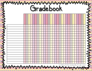 One stop counseling shop organization binder gradebook for Class record book template