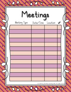 Meetings Warm