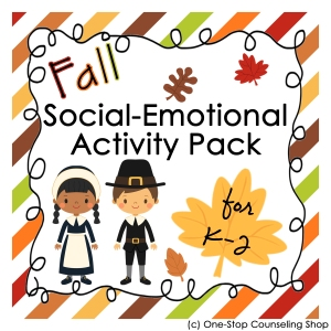 Fall Social Emotional Activity Pack
