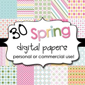 Spring Digital Backgrounds
