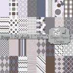 Grey Digital Papers