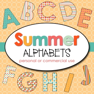 Summer 1 Alphabets